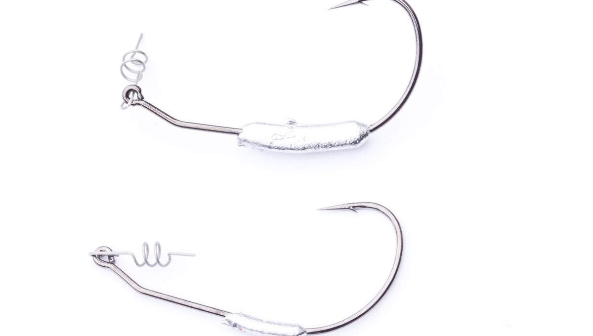 Weighted Swimbait Hooks - 4pk
