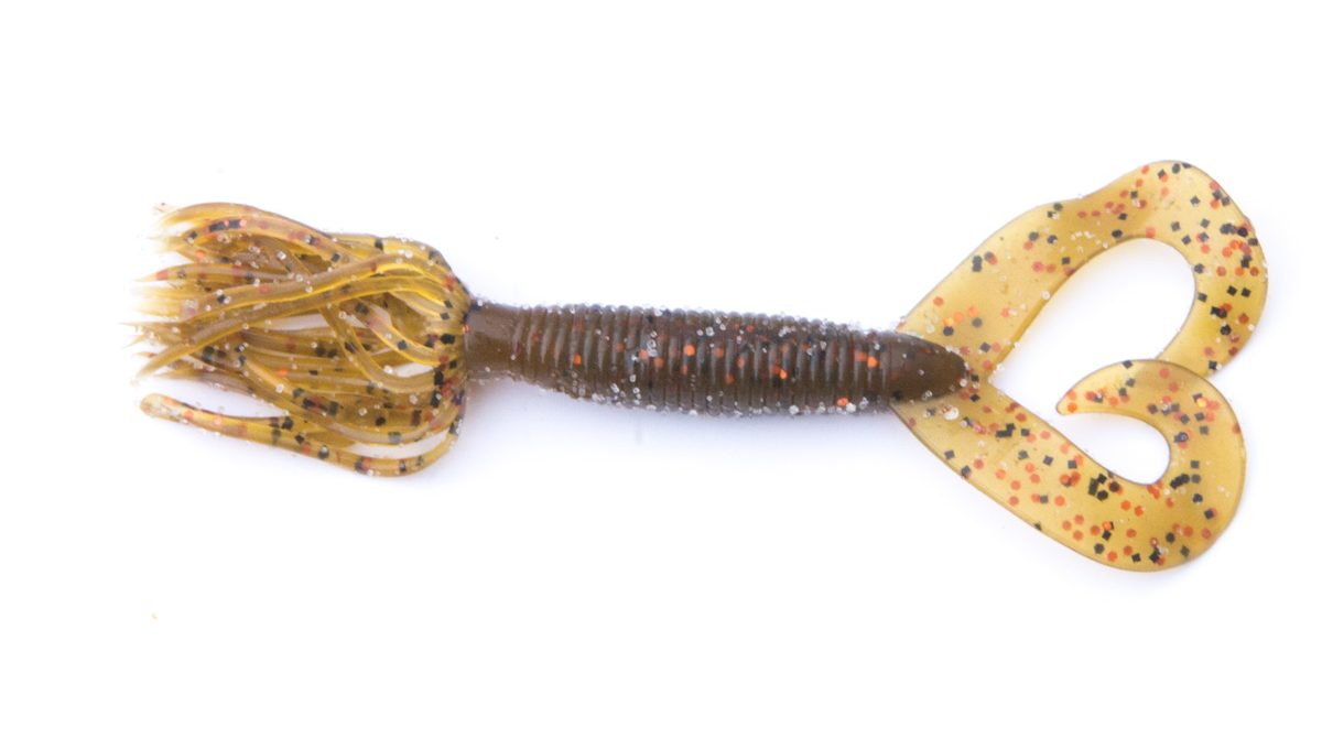 "4"" Skirted Twin Tail Molded Grubs"